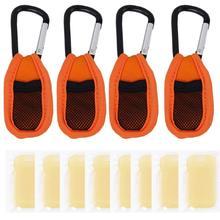 Haierc Mosquito Repellent Key chain (4 Pcs) & Refills (8 Pcs) – Premium Quality – Pure Natural Essence Oil