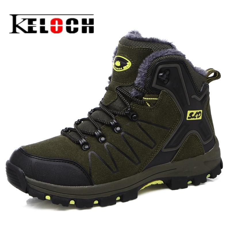 Keloch Unisex font b Hiking b font Shoes Anti Skid Climbing Shoes Men Women Ankle font