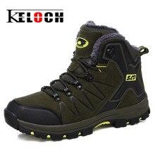 Keloch/унисекс Треккинговые ботинки противоскольжения восхождение Обувь Для мужчин женские ботильоны открытый Mountaining Кемпинг Обувь для Для женщин и Для мужчин