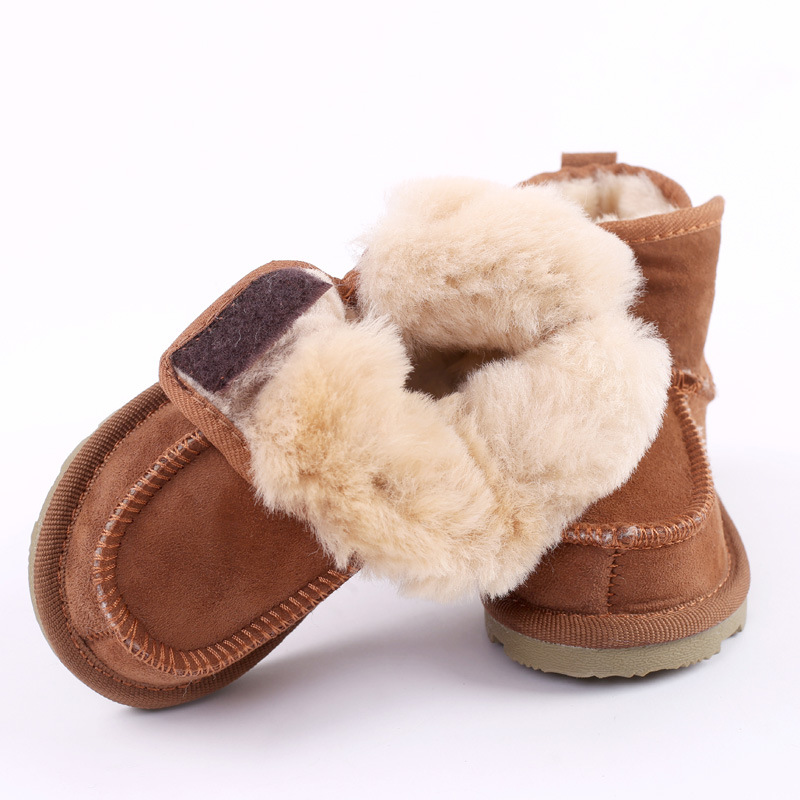 2018 Winter Child Girls Snow Boots Shoes Warm Plush Soft Bottom baby girls boots Fur snow boot for Baby Walking Shoes comfy kids winter fashion child girls snow boots shoes warm plush soft bottom baby girls boots leather winter snow boot for baby