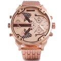 Marca Oulm Reloj de Cuarzo Deporte Hombres Relojes de Moda de Hombres Reloj Militar Corriente Fría Relojioes Reloj Masculino
