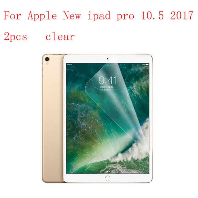clear/Nano Tablet LCD film Screen Protector For Apple New ipad pro 10.5 2017 Reinforced Protection Ultra thin Film 2pcs/lot