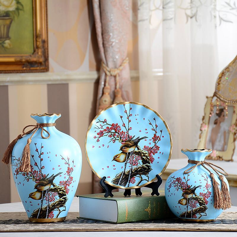 Ceramic flower vase picture more detailed picture about for Modern new home gifts