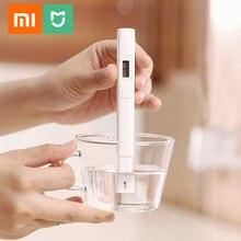 Xiaomi Mjia Caneta Detecção De Teste de Qualidade da Água Pureza TDS Medidor Tester Portátil Qualidade CE TDS 3 Inteligente Digital Tester Pen