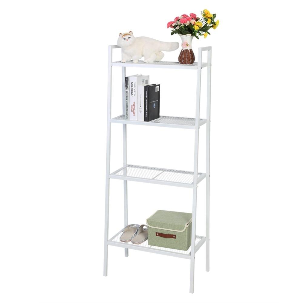 4 Tiers Opslag Plank Unit Boekenplank 60*35*145 Cm Boekenkast Boek Opslag Display Rack Opslag Houder Thuis Decoratie Beste Kwaliteit