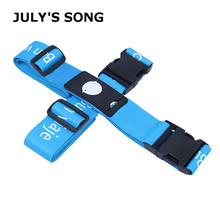 Купить с кэшбэком JULY'S SONG Detachable Luggage Strap Polyester Cross Belt Bag Strap For Travel Two Models Useful Travel Accessories