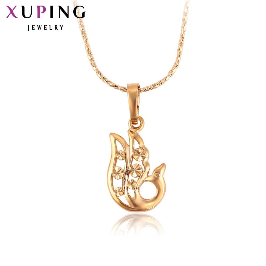 Ксупинг Привезак Специјални дизајн Златна боја Плате Беаутифул и модни накит за поклоне за жене С2.4- 30877