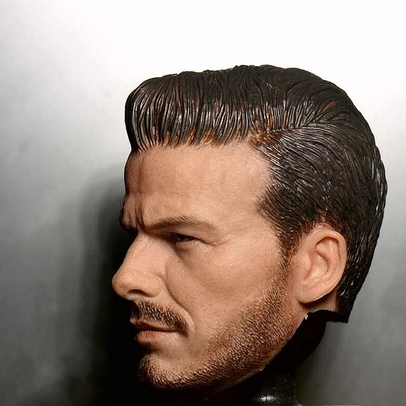 1 6 Young David Beckham Head Sculpt for Male Bodies Figures in Action Toy Figures from Toys Hobbies