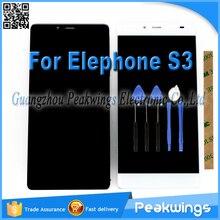 Umi8 touch sensor con display lcd per umi 8 elefono s3 lcd screen display completo assembly in bianco e nero