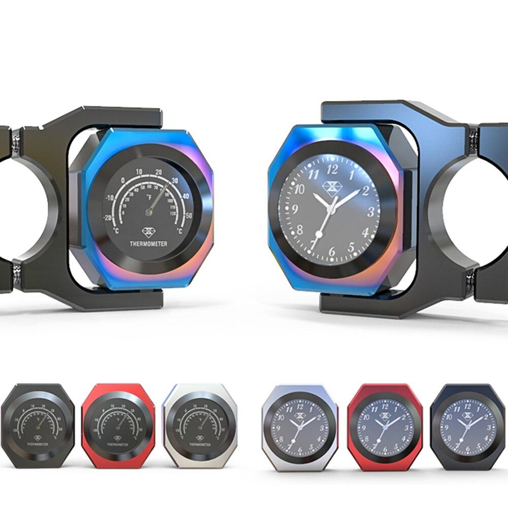 Spirit Beast руль часы термометр мотоцикл датчик температуры для Piaggio Honda Suzuki Yamaha Harely Benelli BMW Vespa