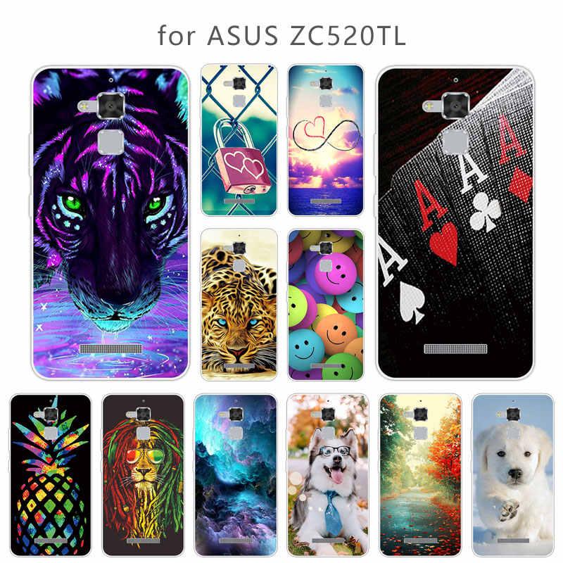 """Caso de TPU Para Asus Zenfone 3 Max ZC520TL Skuli Silicone Macio Casos de Telefone Para Asus Zenfone 3 Max ZC520TL Capa 5.2 """"Fundas"""