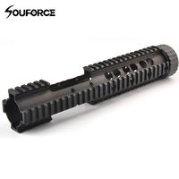 12.5 Tactical M4 RAS MRE Handguard Keymod Rail System Mount with Detachable Rail for 20mm Rail Mount of Gun Accessories Hunting