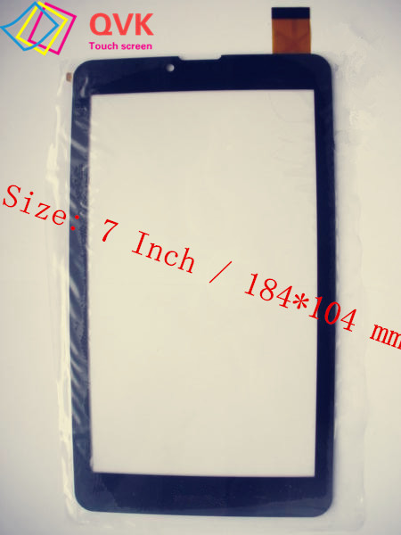 10Pcs Black 7 Inch P/N ZYD070-262-FPC V02 FLT touch screen digitizer glass replacement repair panel (With Prestigio logo)