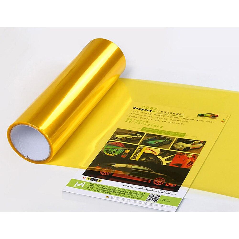 Film adhésif pour phare de voiture | Film vinyle transparent autocollant de lumière de voiture, autocollant de teinte de phare anti-fumée, film de teinte pour voiture 30x60cm