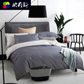 Piece set 100% algodão kit cama tarja 1.8 metros lençóis de casal colcha têxtil de casa moda