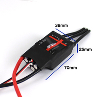Skywing 200A Brushless ESC with 5V/3A BEC for for Fixed wing RC Airplane