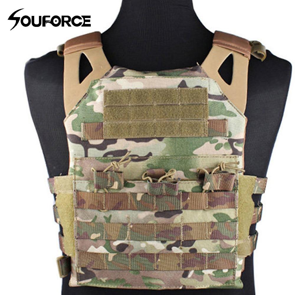 4 Color Tactical Vest Chest Protective JPC Vest Outdoor Multi-function Combat Vest Camouflage CS Field Protective Equipment tactical vest 027 vest field cs vest apron vest military protective equipment