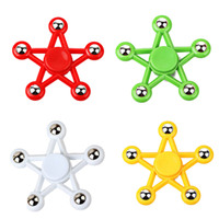 2017 Hand Spinner Five-pointed Star Fidget Spinner 608 steel Ball bearing Balanced Rotation EDC Decompression Toys