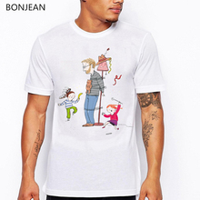 Super Dad T shirt men funny Fathers Love printed tshirt camisetas hombre Harajuku Shirt summer tops tumblr clothes
