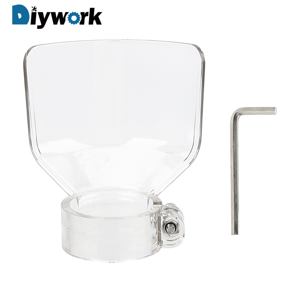 DIYWORK Drill Holder Electric Shield Grinding Safety Protect  Cover Power Tools Accessories  Dust And Splash Protection Cover