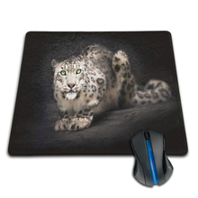 Babaite 250x290x2mm 180X220X2mm Snow Leopard Customized Mouse Pad Computer Notebook Laptop Equipment Decor and Gaming Mouse Mat