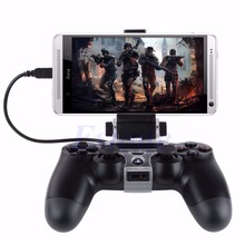 High Quality New For PlayStation PS4 Game Controller Smart Mobile Phone Clip Clamp Mount Holder baby toys fpv lcd monitor transmitter rc controller mount holder clip for phantom new sale