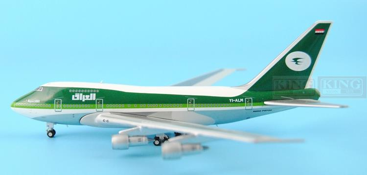 GJIAW1204 GeminiJets Iraqi aviation YI-ALM 1:400 B747SP commercial jetliners plane model hobby gjcca1366 b777 300er china international aviation b 2086 1 400 geminijets commercial jetliners plane model hobby