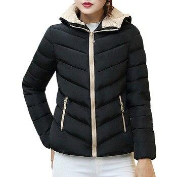 FeiTong Parka Winter Jacket Women Warm Coat Thick Warm Slim Women Winter Jacket Overcoat Fashion 2018