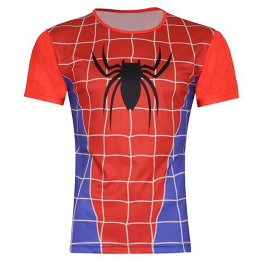 Design t shirt price - 2017 Summer Men Short Sleeve 3d T Shirt Animal A Spider S Web Brand Design T