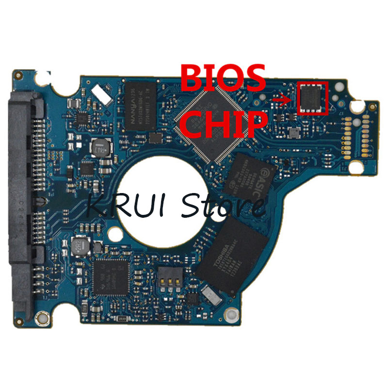 free shipping HDD PCB LOGIC BOARD BOARD NUMBER 100705349 REV D