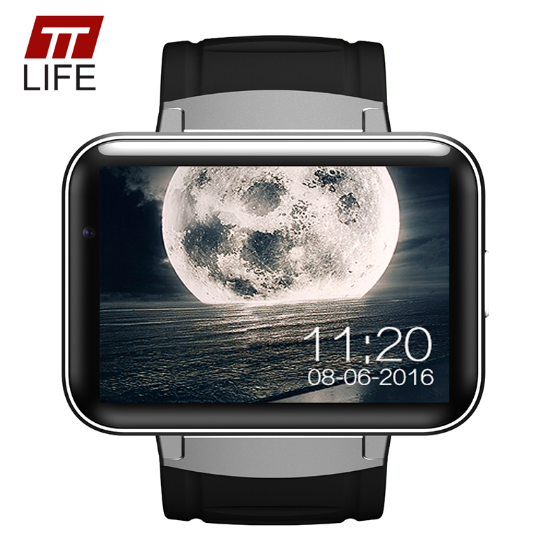 TTLIFE GPS DM98 Smart Watch Men Phone For Android IOS 3G WIFI Support SIM Card Sleep Monitor Bluetooth Smart Wristband watches gs8 1 3 inch bluetooth smart watch sport wristwatch with gps heart rate monitor pedometer support sim card for ios android phone