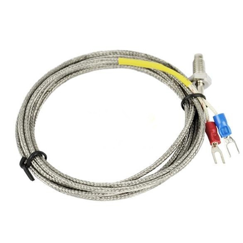 2M (6.6ft) K Type Sensor Screw Thermocouple Probe For Temperature Controller Dropshipping TK0375