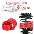Jinke 1 пара передний амортизатор SEBS размер-B бампер Подушка амортизатор пружинный буфер для Benz C200