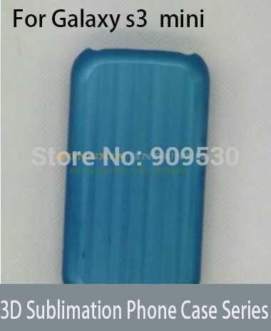 3D Sublimation Phone case Mould for samsung Galaxy S3 MINI  цены
