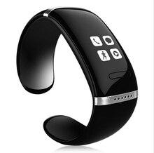 Pulsera inteligente L12S OLED Bluetooth reloj de la pulsera del diseño para IOS iPhone Samsung y teléfonos Android electrónico portátil