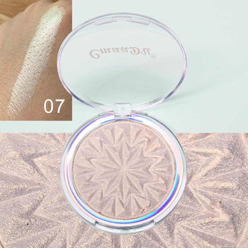CmaaDu 8 สี Highlighter Facial Palette Illuminator Shimmer Powder แต่งหน้า Glow Contour Shimmer Face Body เครื่องสำอางค์ TSLM2