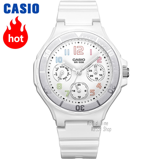 dbaf017f500b Reloj Casio analógicas de las mujeres de cuarzo reloj deportivo de moda  impermeable reloj de las
