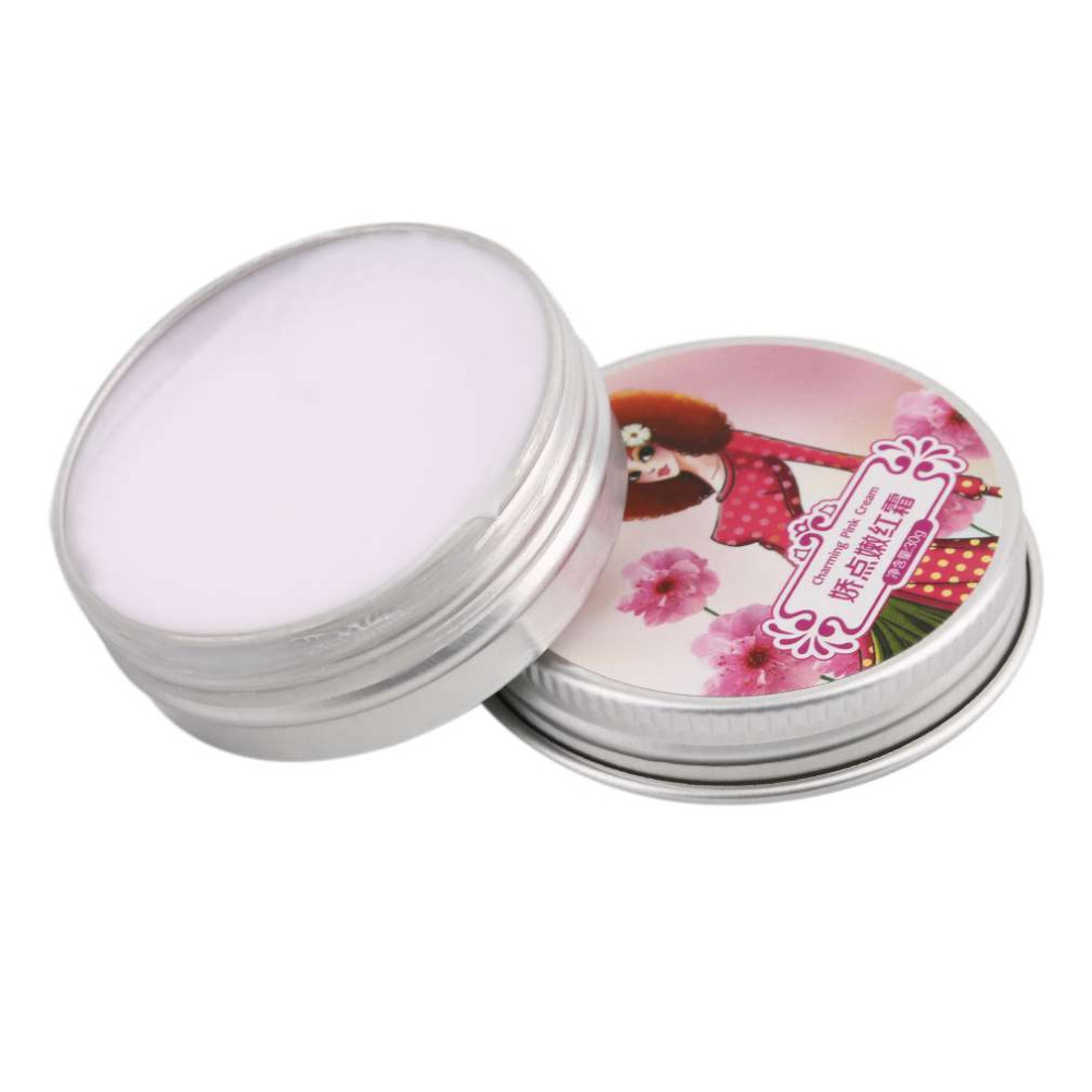 Women Private Whitening Moisturizing Secret Pink Lips Areola Cream Enzyme Crystal Collocation 30ml Skin Care