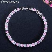 79191edddb316 Buy pink tennis bracelet and get free shipping on AliExpress.com