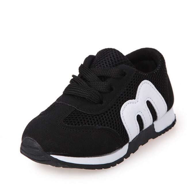Sıcak Yeni 2016 Çocuk Sneakers Moda Çocuk Ayakkabı Erkek Kız Ayakkabıları Spor Koşu Ayakkabı Bebek Kanvas Ayakkabılar Ücretsiz Kargo