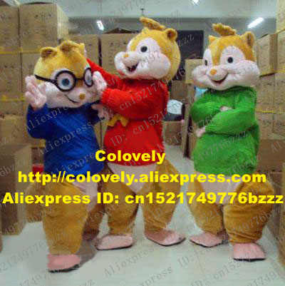 Lovely Brown Alvin And The Chipmunks Mice Mouse Rat Chipmuck Mascot Costume Mascotte With Fat Face Small Eyes No 389 Free Ship Rat Mascot Costume Alvin And Chipmunkalvin And The Chipmunks Aliexpress