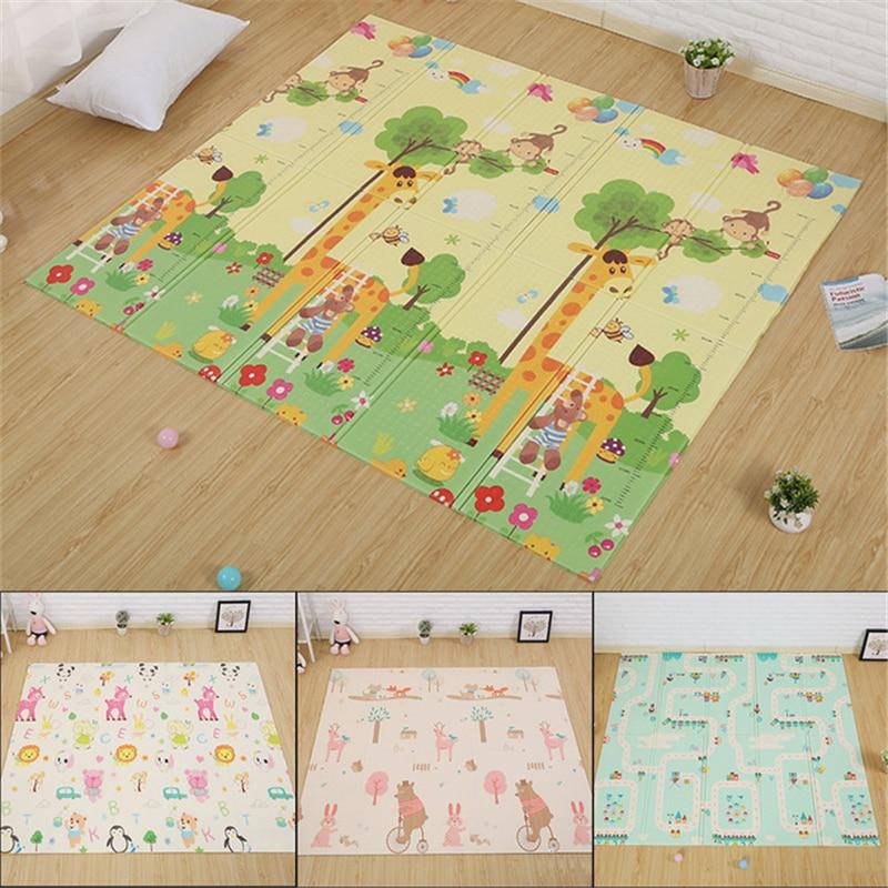 Tapis de jeu bébé jouets pour enfants tapis tapis de jeu enfants tapis de développement Puzzles tapis de jeu tapis de jeu dans la pépinière tapis 180X200 CM