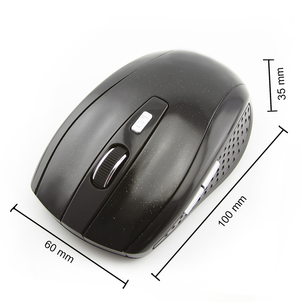 Generic Cheap Wireless Mouse 1600DPI Optical Gamer Mause 5 Buttons Gaming Computer Mice For PC Laptop Desktop(Gray) price on jumia Nigeria via specspricereview.com