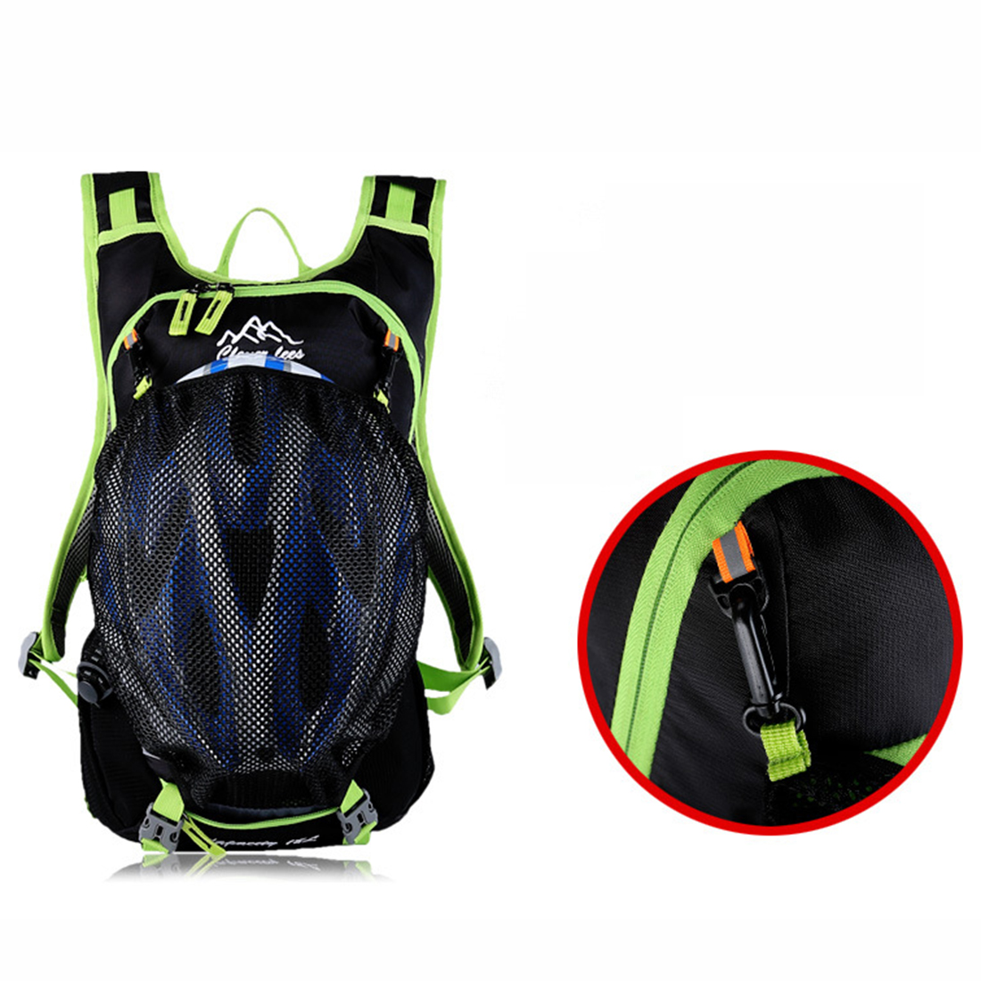 18L Men Women Riding Backpack Waterproof Bag Outdoor Sports Bag Male Shoulders Cycling Bag Bbycicle Accessories in Bicycle Bags Panniers from Sports Entertainment