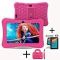 Дракон Сенсорный Y88X Плюс 7 дюймов Дети Планшетных пк Quad Core Android 5.1 + Таблетка сумка + Протектор Экрана Лучшие подарки для детей