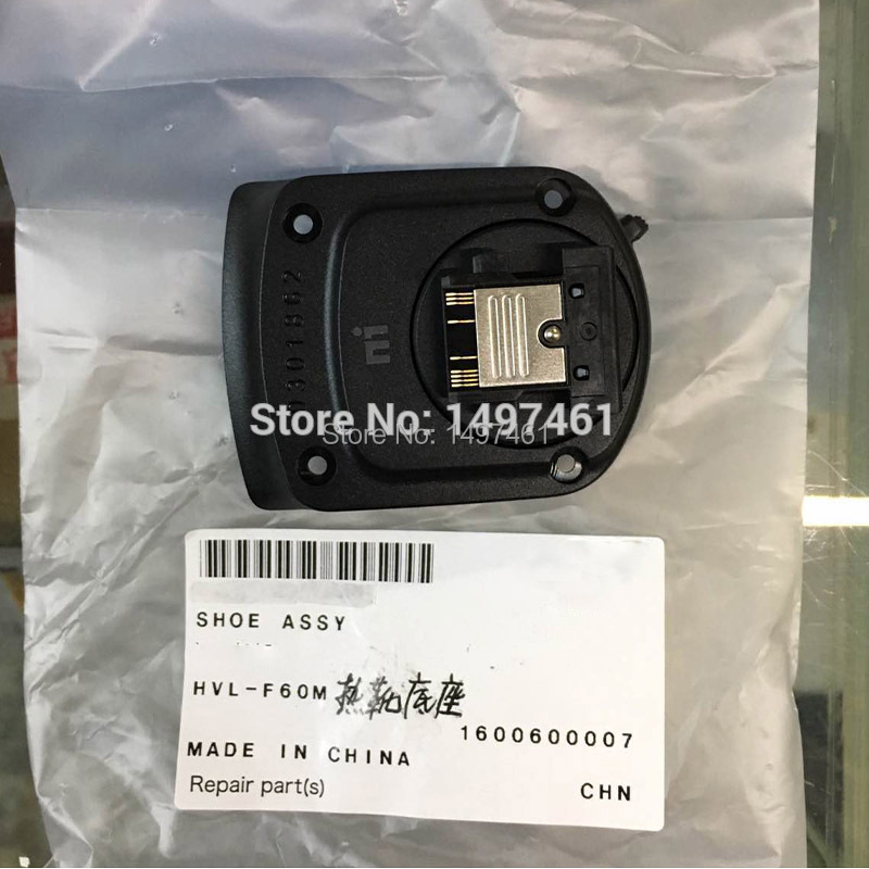 New Hot shoe hotshoe assy repair parts For Sony HVL-F60M F60M F60 Flash new sis 2017 full parts and repair flash 2016 hdd500g activator for unlimited installation for cat