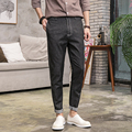 New Men Japan Style Cotton Casual Denim Pants Male Fashion Hophop Jeans Harem Pant Loose Denim Trousers