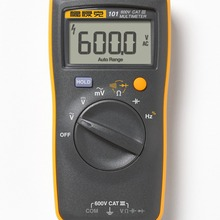 Fluke 101/101kit/106/107 Ручной цифровой автоматический Диапазон Цифровой мультиметр переменного тока/постоянного тока легко переносятся Мини цифровой мультиметр метр