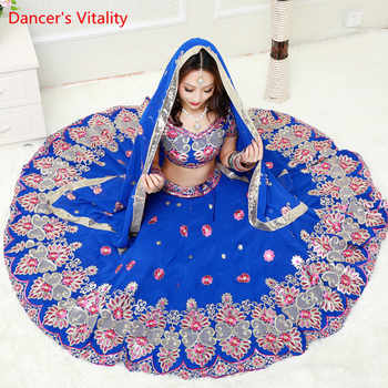 2018 Handmade Embroidery Luxury Belly Dance Costumes Women Belly Dancing Indian Dance Performance Competition Clothing Suits - DISCOUNT ITEM  10% OFF All Category
