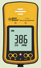 AS8903 Handheld Hydrothion H2S Koolmonoxide CO Gasdetector Monitor 2in1
